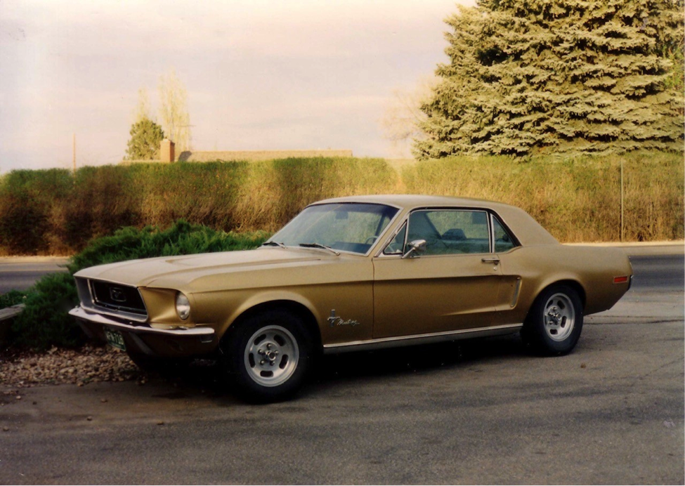 1968 Mustang Coupe: A 30+ Year Journey Around the World